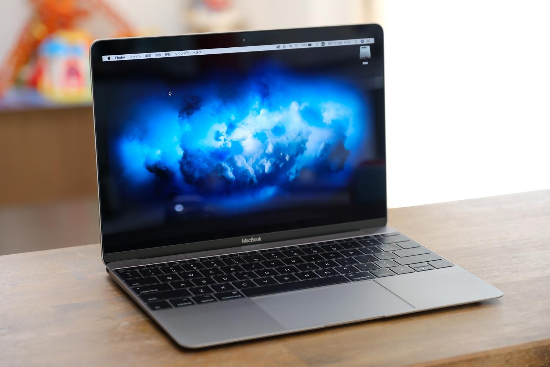 12インチMacBook 2017