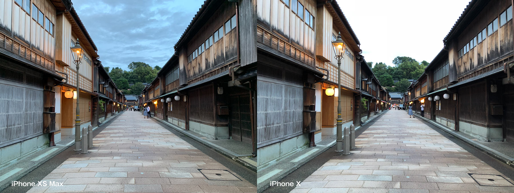 iPhone XS MaxとiPhone X カメラ比較 HDR1