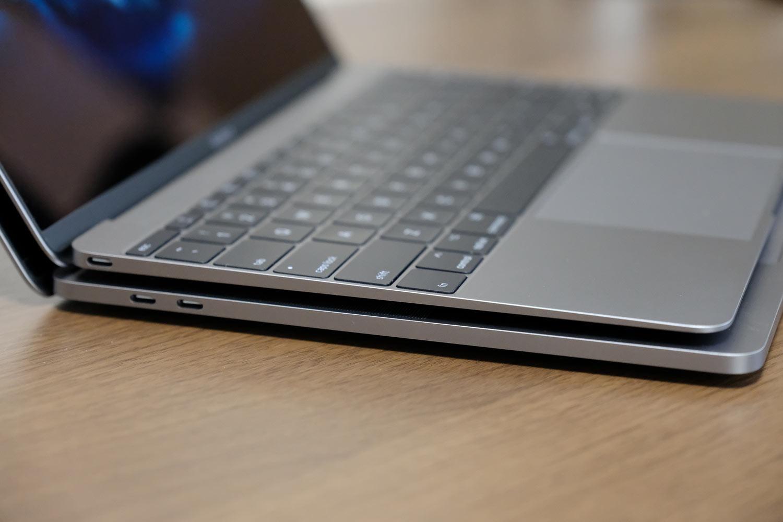 MacBook 12インチと MacBook Pro 13インチの外部ポート