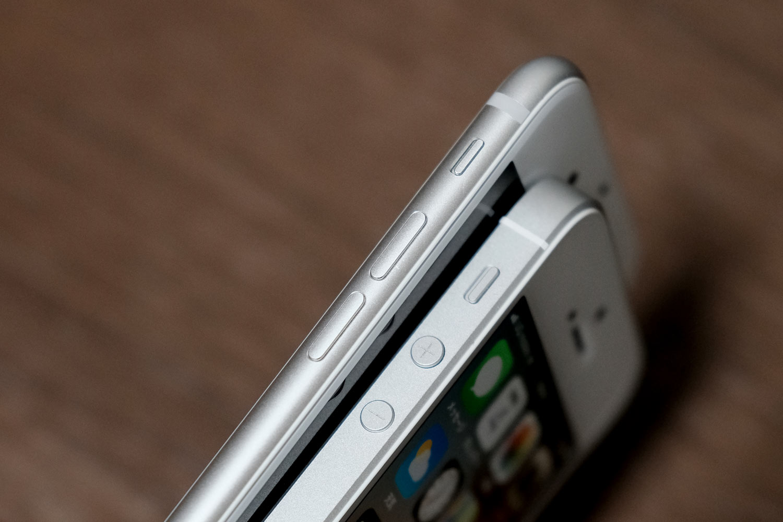 iPhone 7/8とiPhone SE 本体の厚み