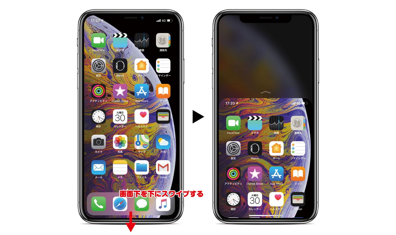 iPhone XS 簡易アクセスモード