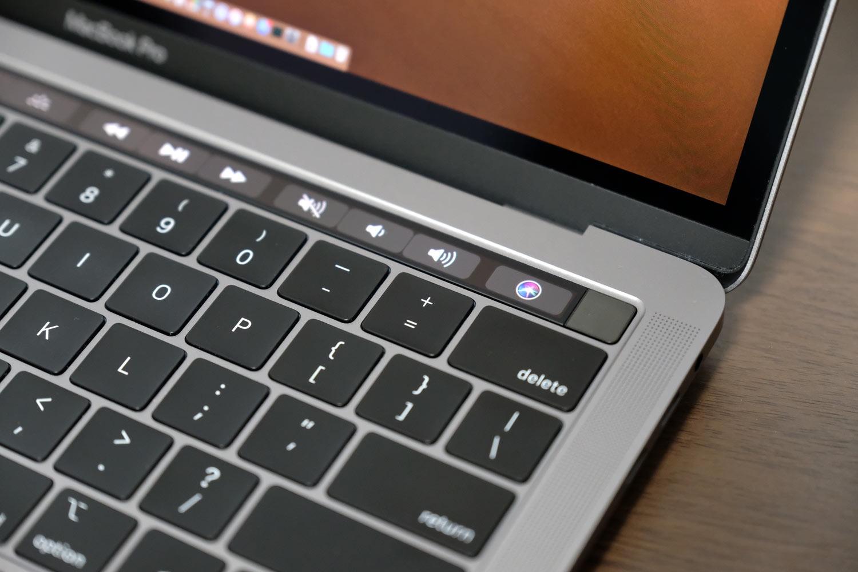 MacBook Pro Touch Bar搭載モデル