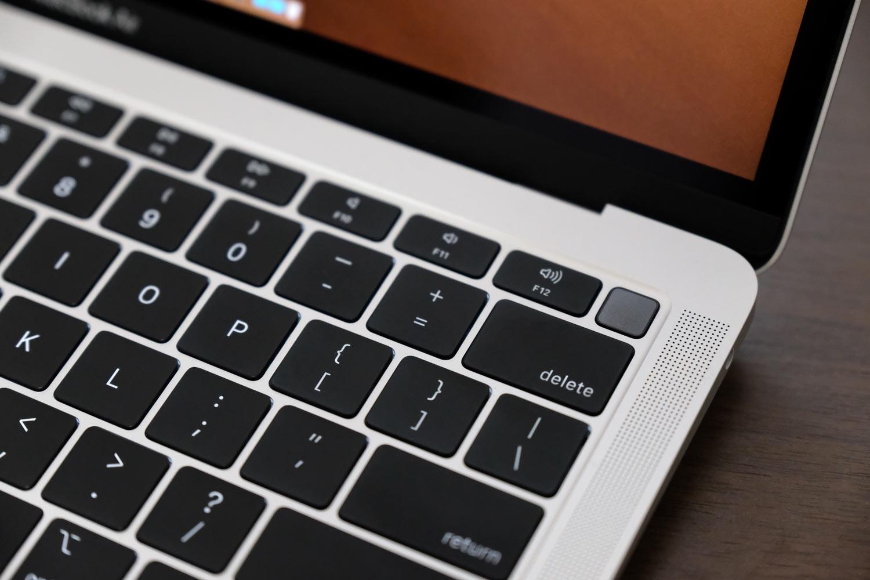MacBook AirのTouch ID